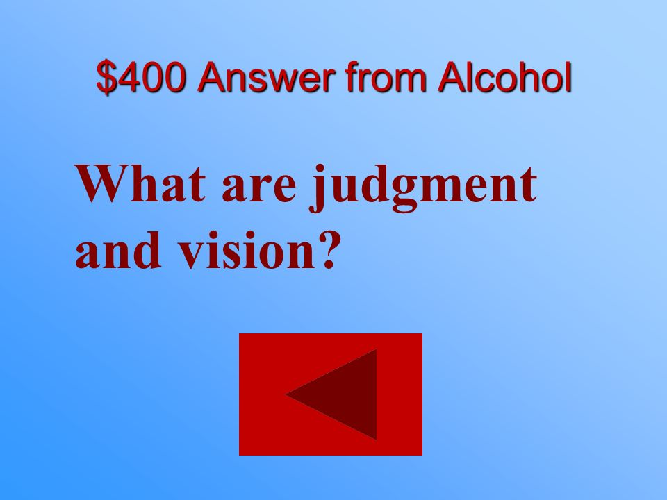 What are judgment and vision