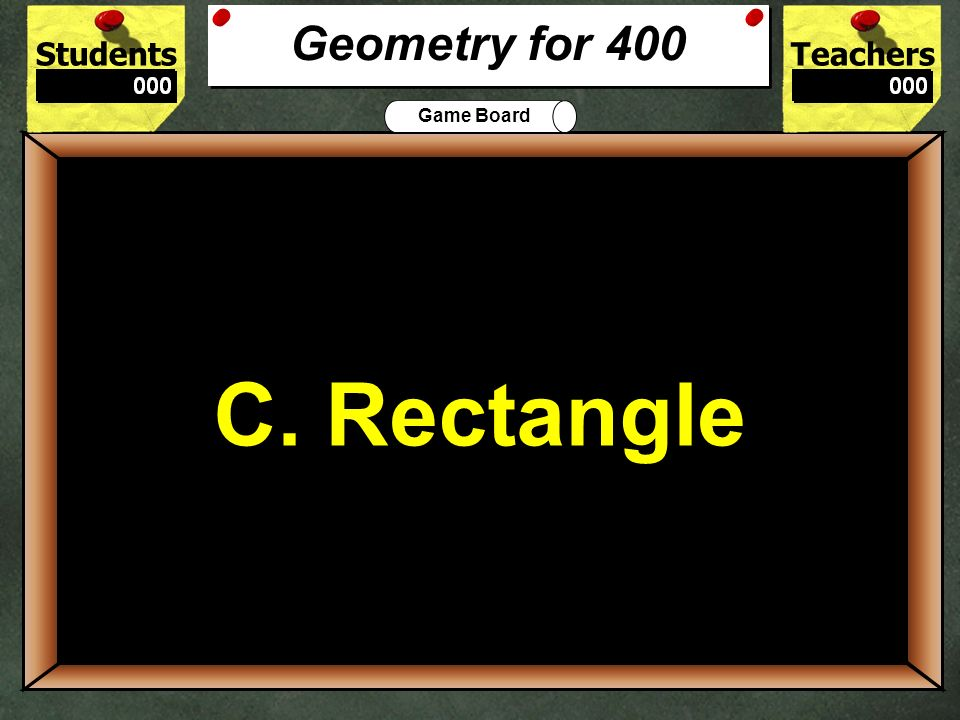 One example of a quadrilateral is a