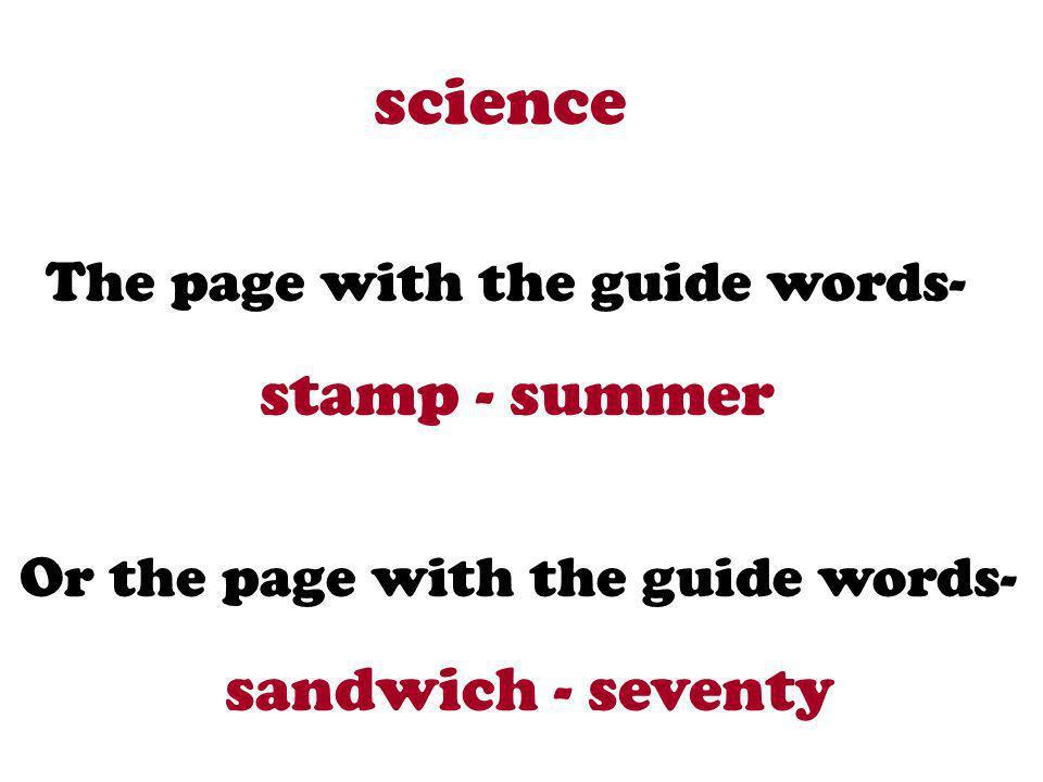 science stamp - summer sandwich - seventy