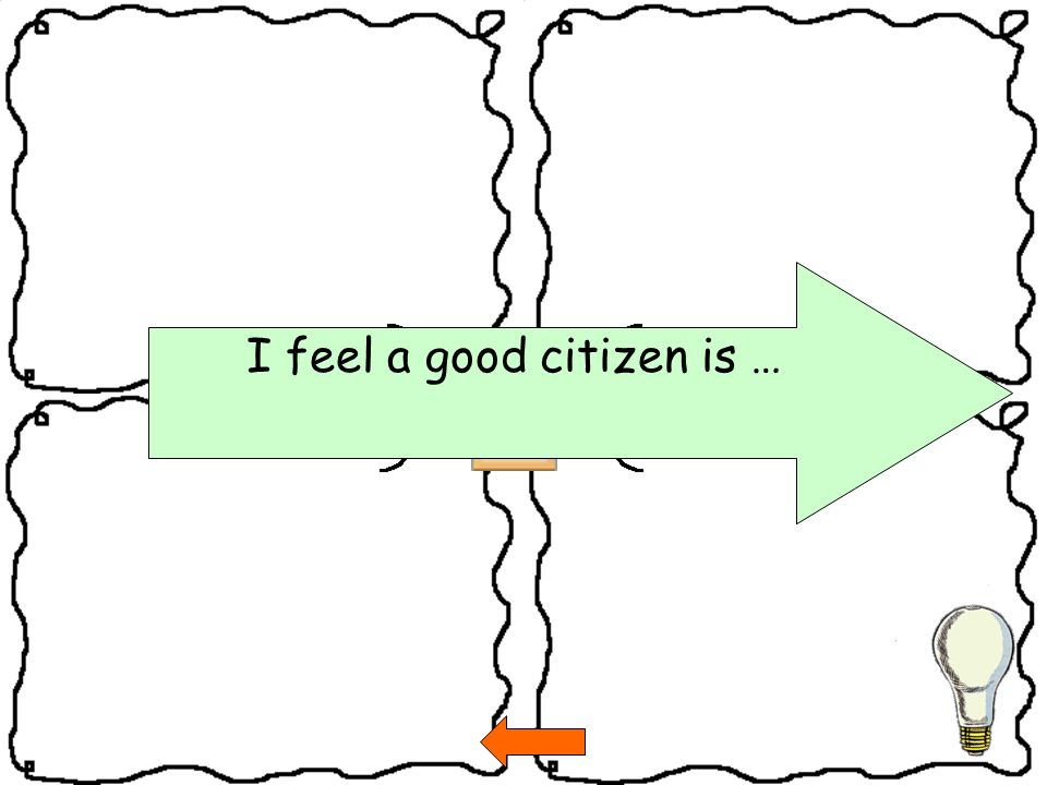 I feel a good citizen is …