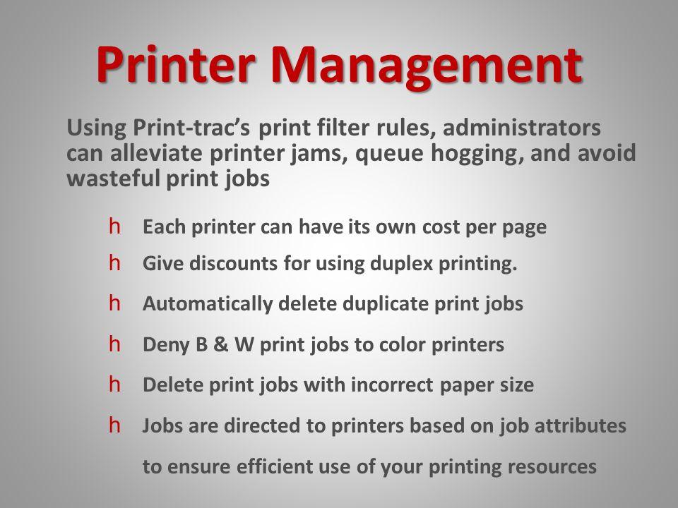 Print Trac Educational