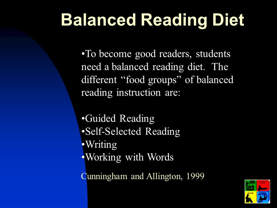 Balanced Reading Diet