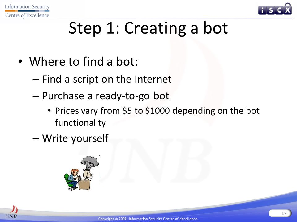 How to write a bot program