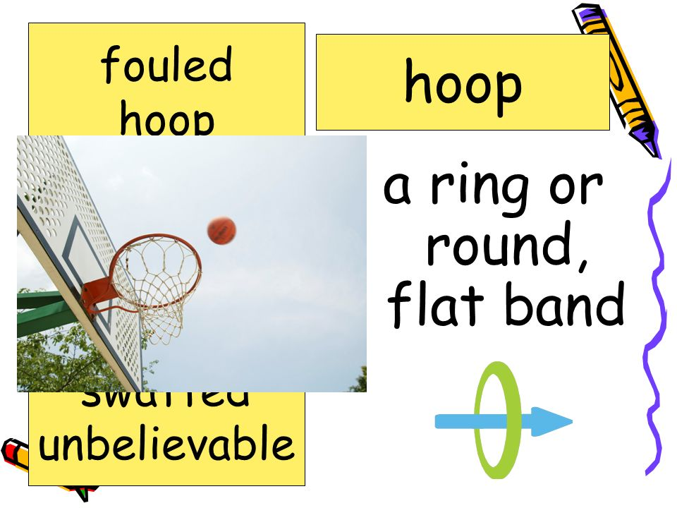 a ring or round, flat band