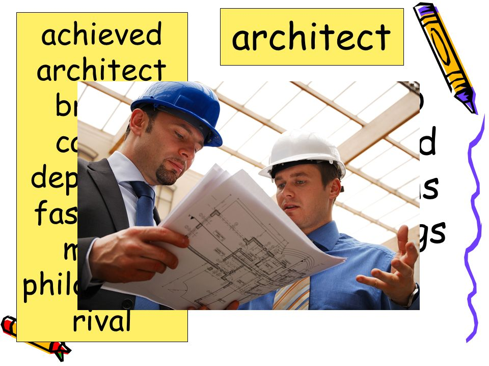 person who designs and makes plans for buildings