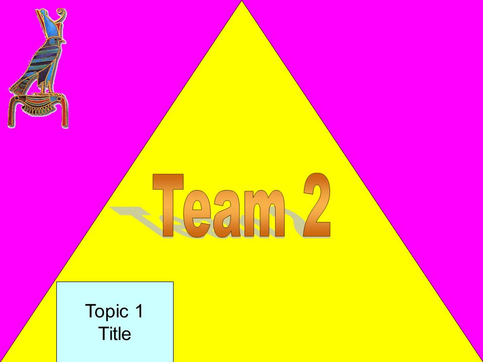 Team 2 Topic 1 Title