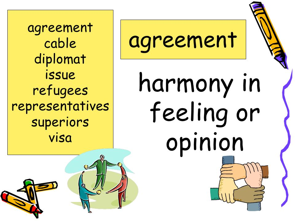 harmony in feeling or opinion