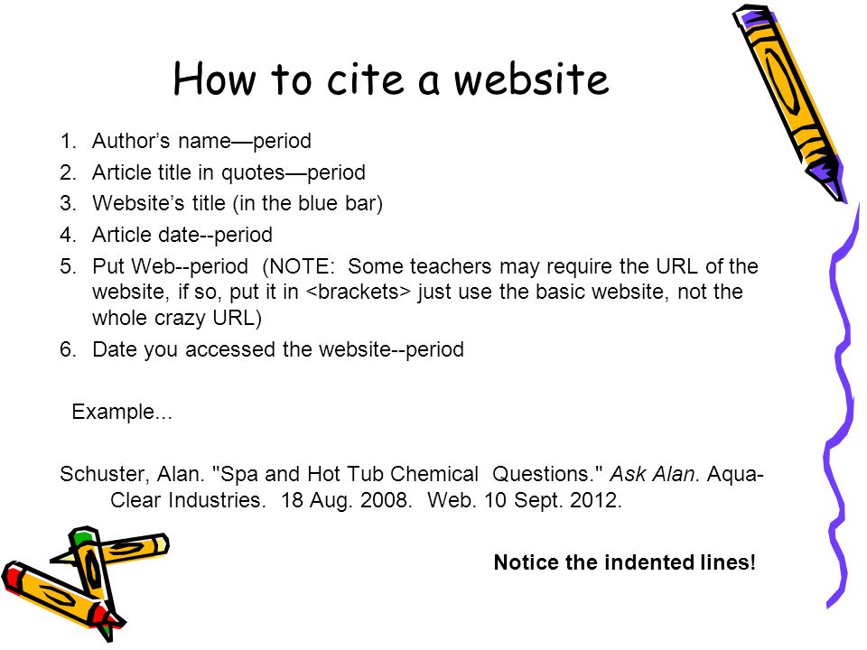 how do you cite a website in your essay Looking for an online tool to do the work for you citation  link that leads you to the website cite the image  your paper or essay for.