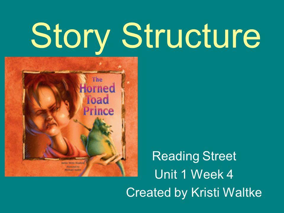Reading Street Unit 1 Week 4 Created by Kristi Waltke