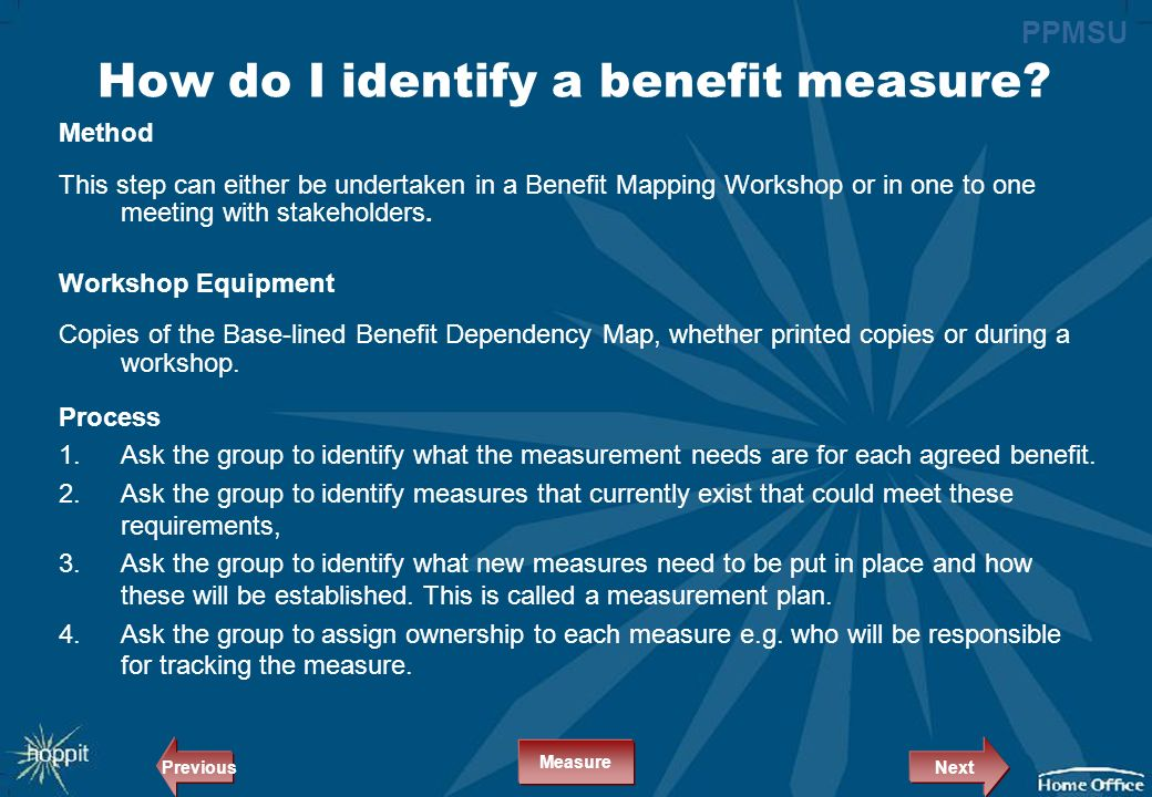 Can training benefits be measured
