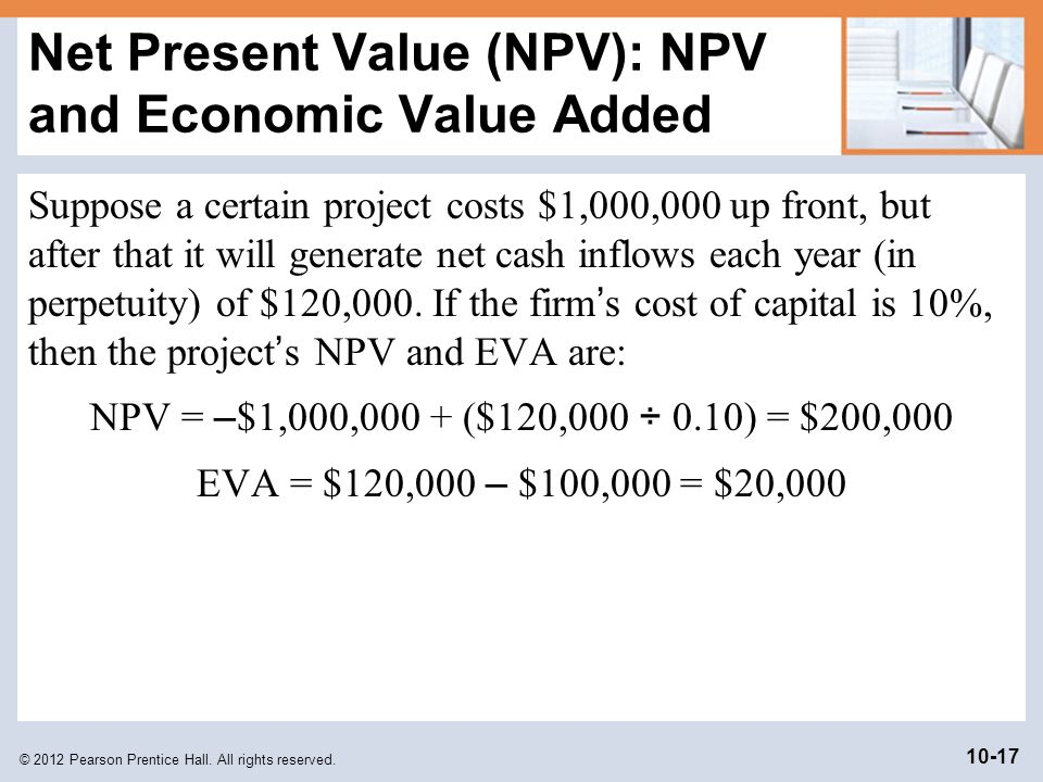 net present value vs internal rate of return pdf