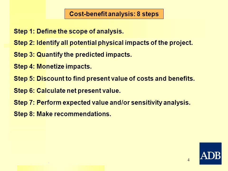 Introduction To CostBenefit Analysis Using Market Prices  Ppt