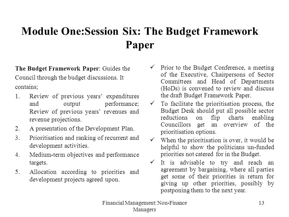 medium-term budget framework thesis Part of comprehensive reform of budget framework budgeting and accounting on same basis main exceptions to ipsas medium-term budget framework last modified by.