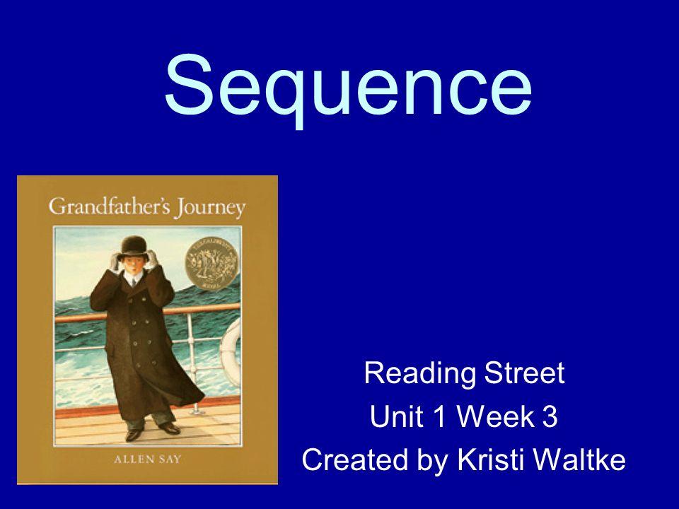 Reading Street Unit 1 Week 3 Created by Kristi Waltke