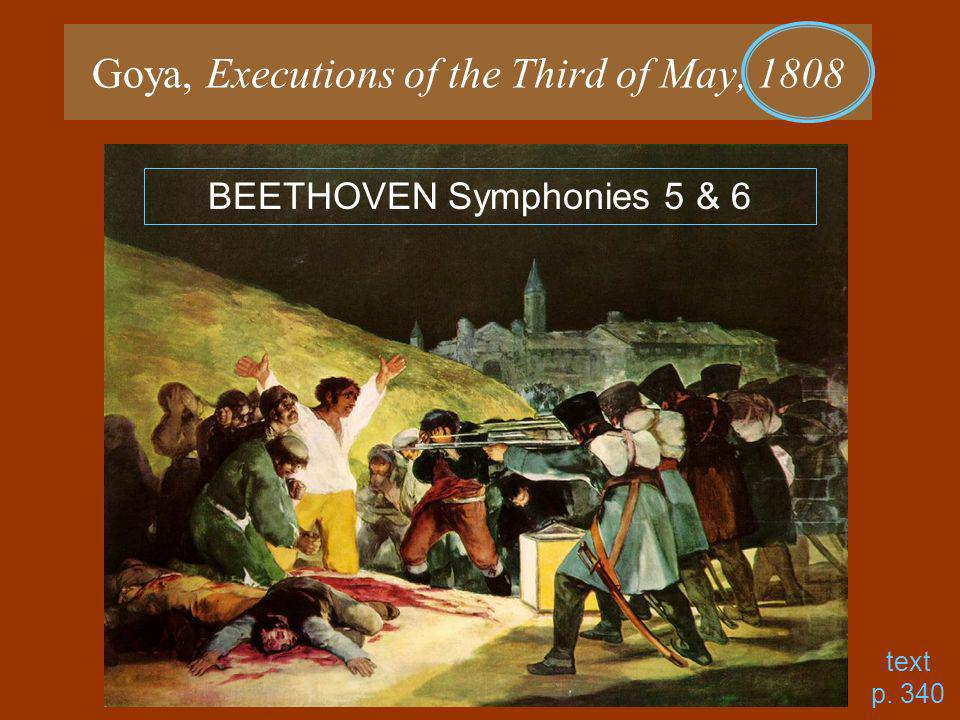 Goya, Executions of the Third of May, 1808