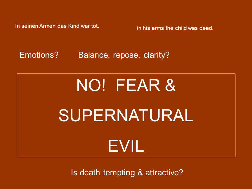 Is death tempting & attractive