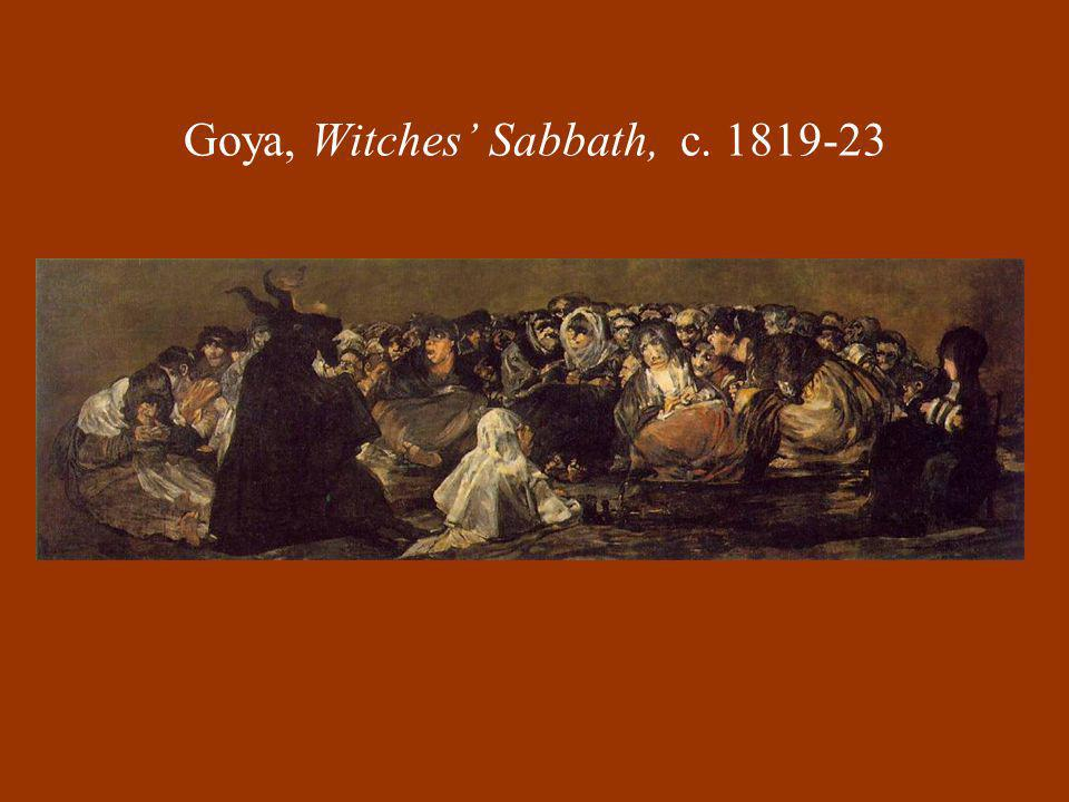 Goya, Witches' Sabbath, c