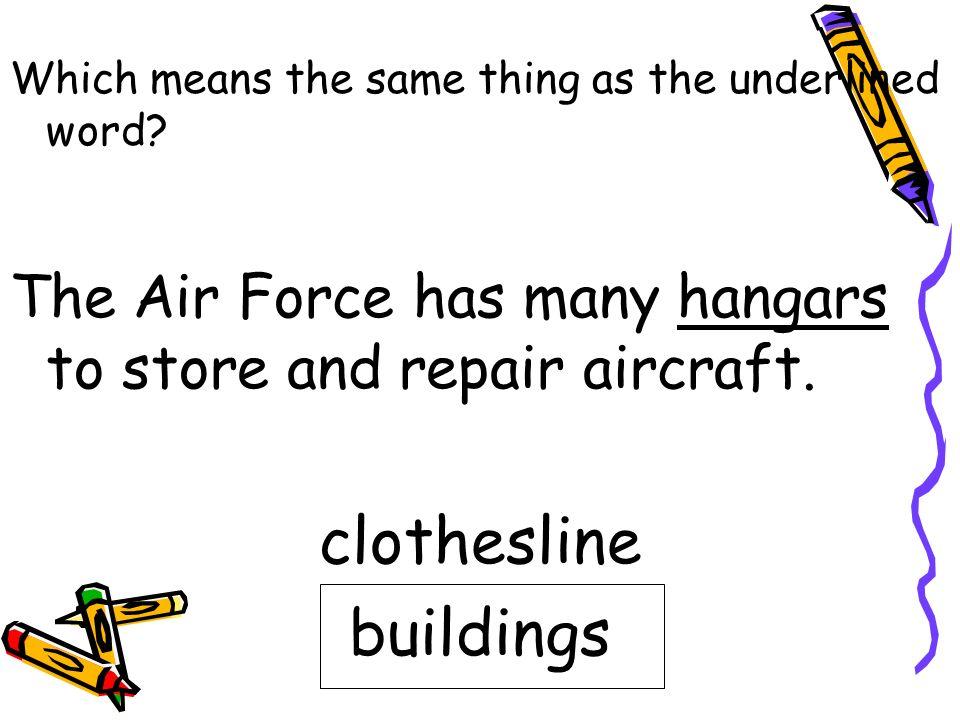 clothesline buildings