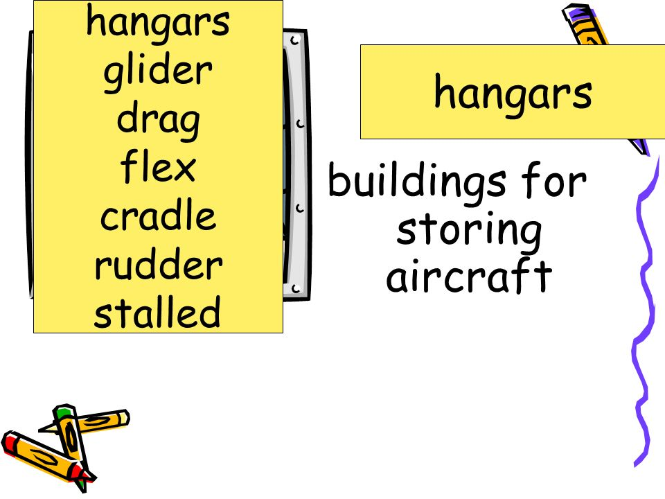 buildings for storing aircraft