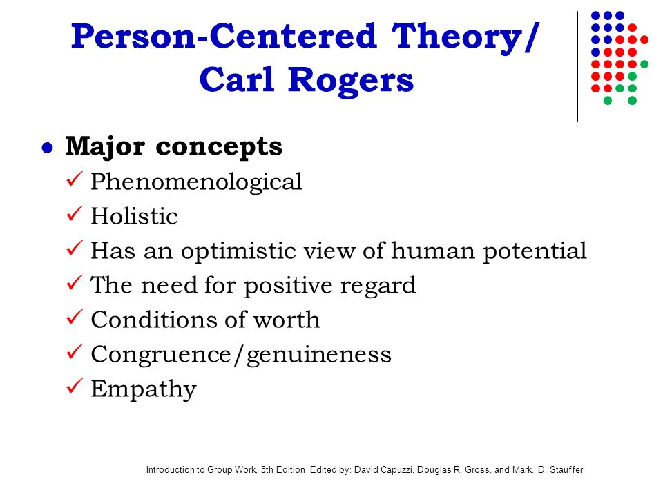 Person centered theory