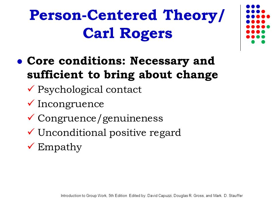 Carl rogers person centred theory psychology essay