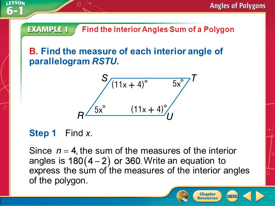Exterior Angles Of A Polygon Equation. Concept 1 Answer The Sum Of The  Measures Is Find The Interior