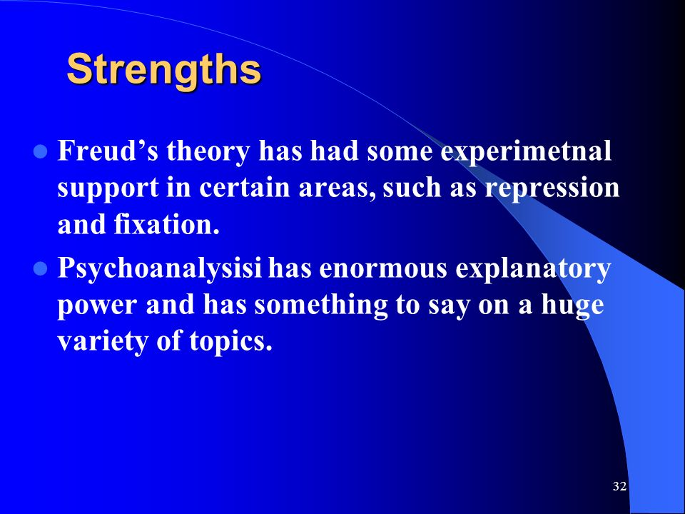 Strengths and Limitations of Freudian and Neo-Freudian Approaches