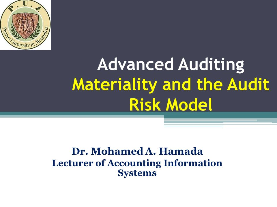 understanding the detection risk and evidence accumulation in audit risk model Identification and assessment of audit risks, which may be encountered by a   audit risk includes 3 components: inherent risk, control risk and detection risk   audit evidence should be collected (or not) by the auditor for providing that  no  one should pass through life without knowing what bayes' theorem is and how it.