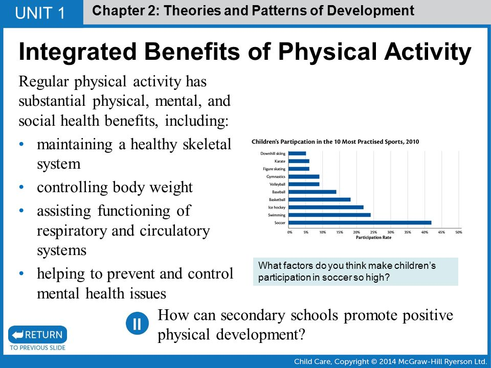 theories of physical development When child development experts talk about the study of development, they have  in mind some fundamental theories this article explores those.