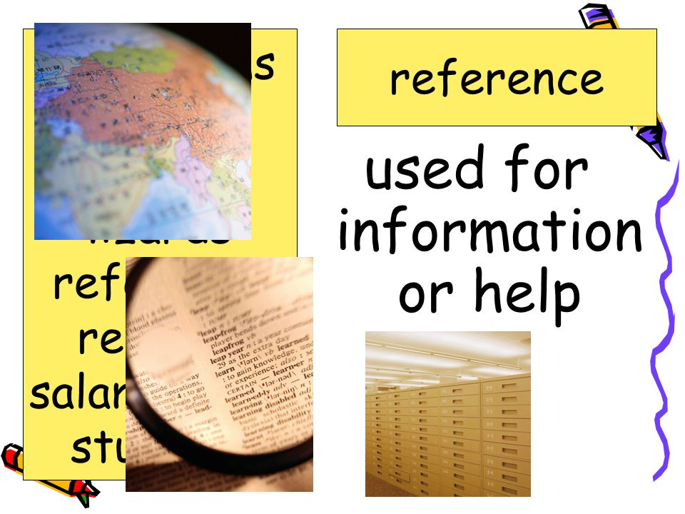 used for information or help
