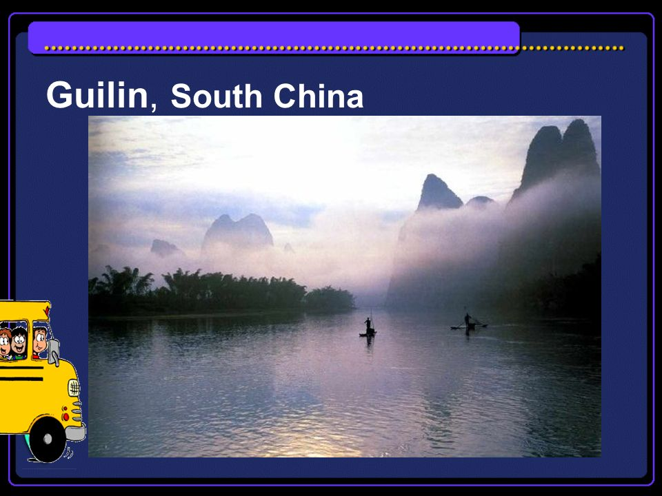 Guilin, South China