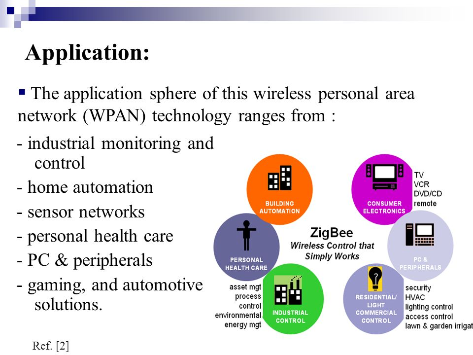 Zigbee networks and applications information technology essay