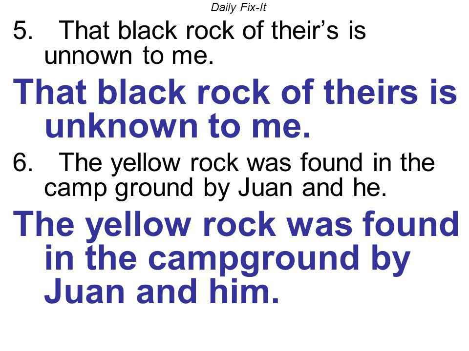 That black rock of theirs is unknown to me.