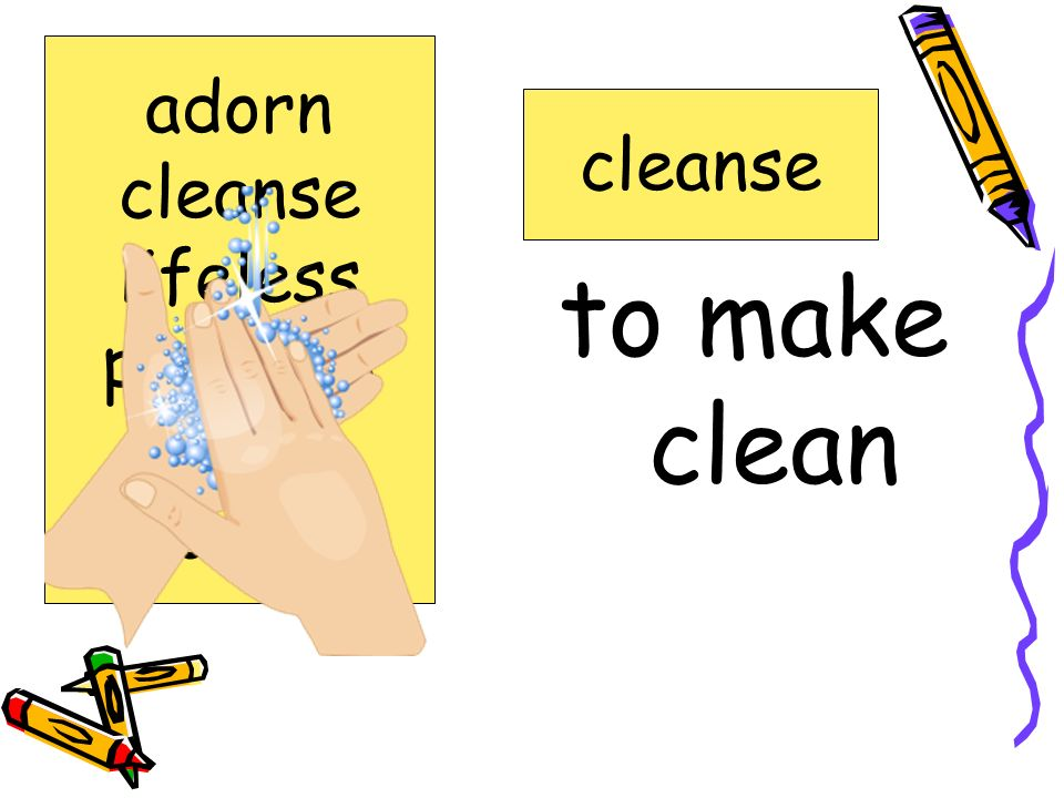 adorn cleanse lifeless precious realm spoonful cleanse to make clean