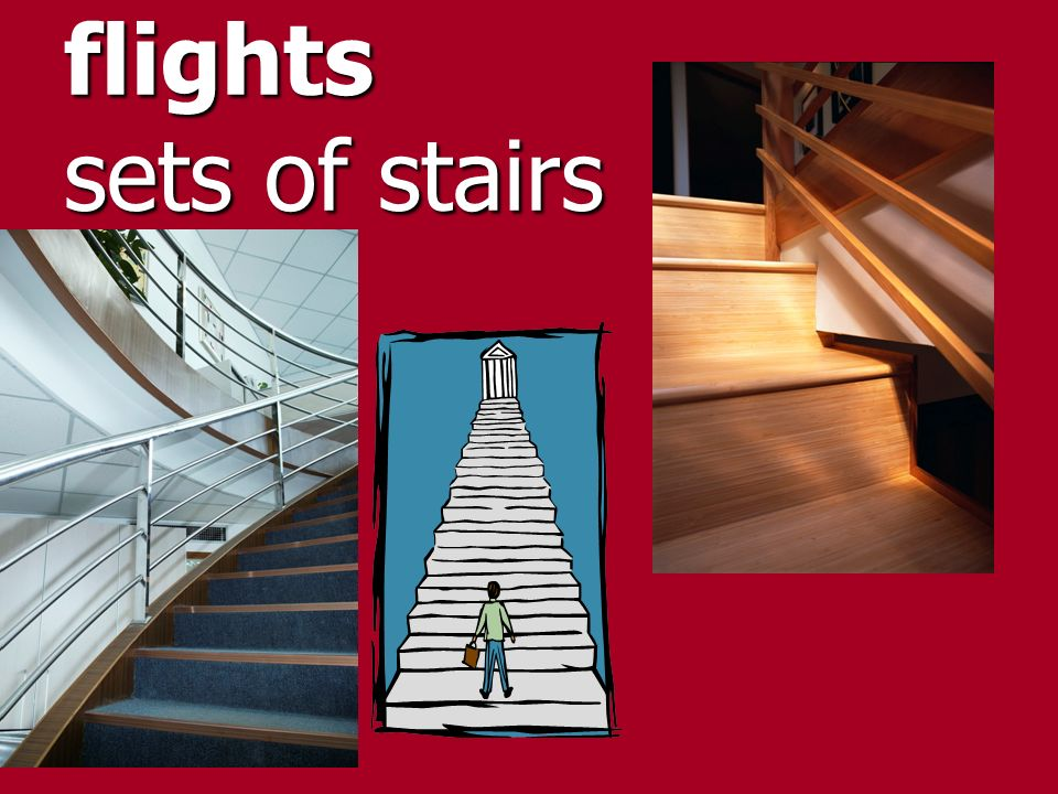 flights sets of stairs