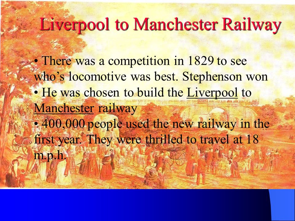 Liverpool to Manchester Railway