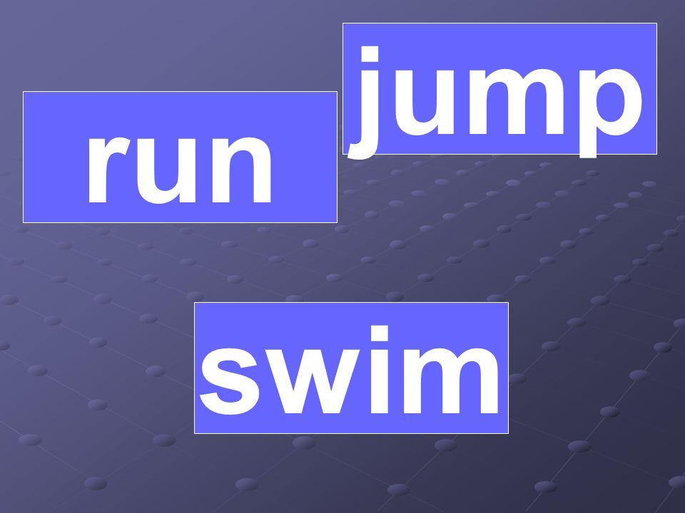 jump run swim