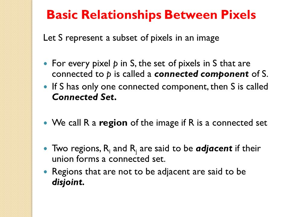 relationship between pixel and bit