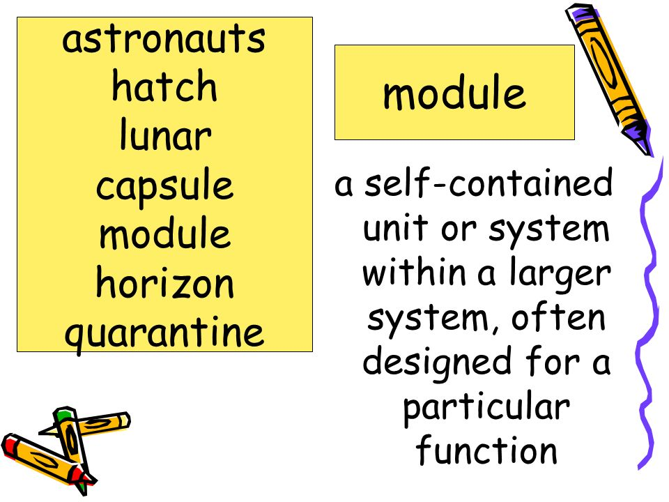 module astronauts hatch lunar capsule module horizon quarantine