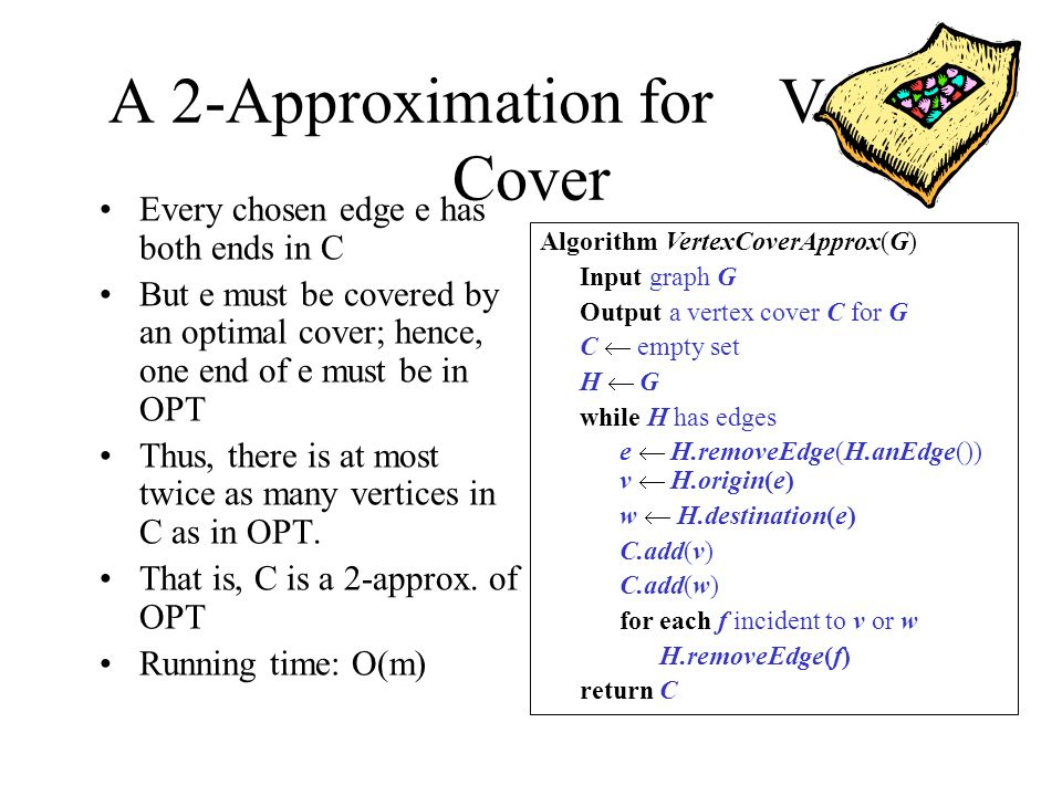 A 2-Approximation for Vertex Cover