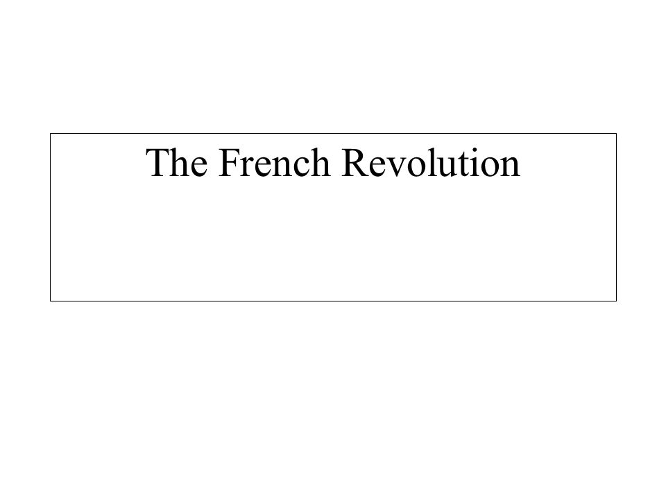 the ideas and ideologies of rousseau in regards to the french revolution Rousseau and the french revolution rousseau died in 1778 when france was at the height of its enlightenment at the time of his death.