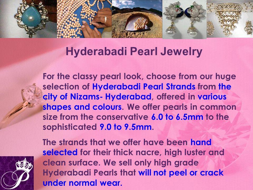 Hyderabadi Pearl Jewelry