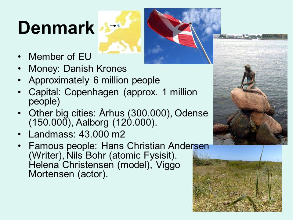 Denmark Member of EU Money: Danish Krones