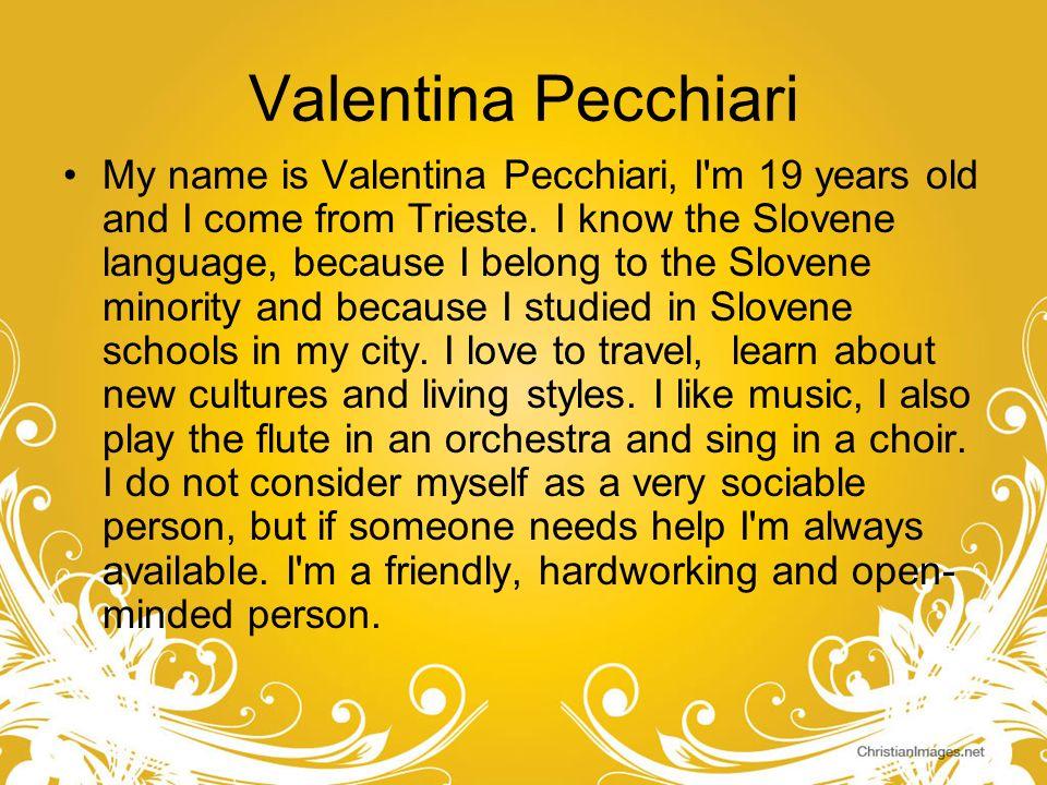 Valentina Pecchiari