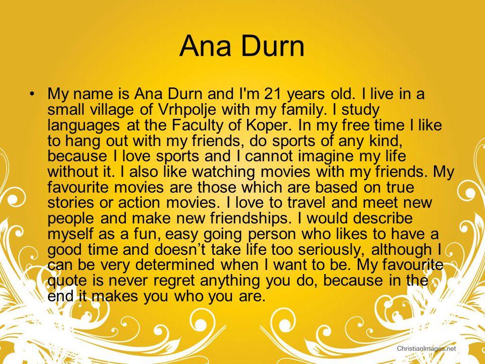 Ana Durn
