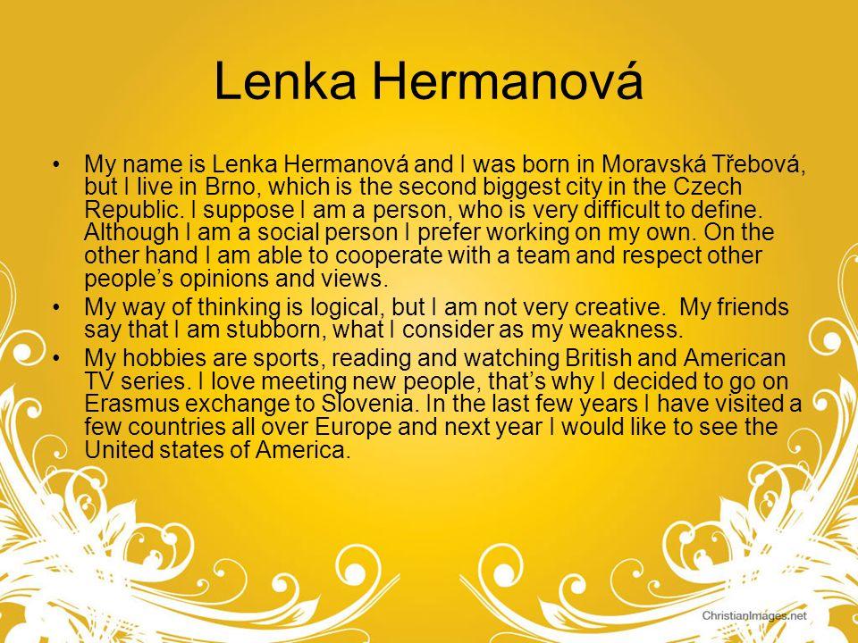 Lenka Hermanová