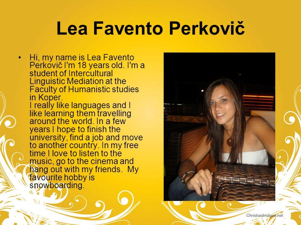 Lea Favento Perkovič