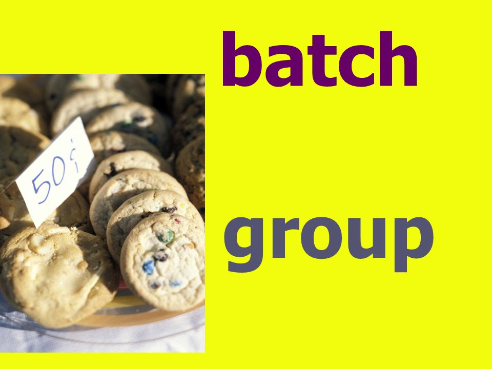 batch group