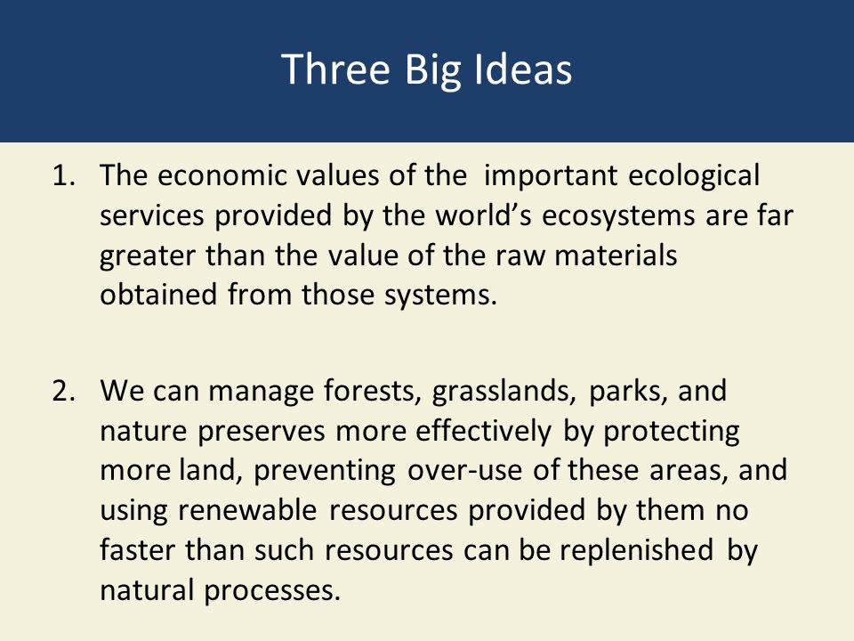 economic value of biodiversity pdf