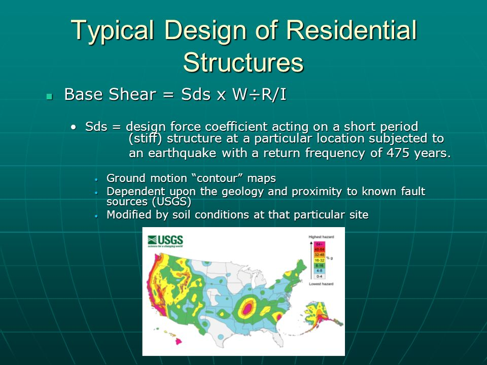 Seismic Retrofit With Damper Panels Ppt Video Online Download - Us geological survey contour map for seismic design